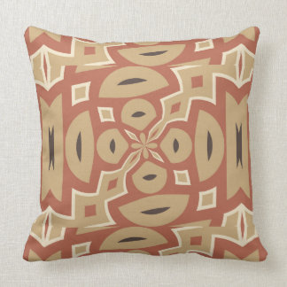 Autumn Pumpkin Spice Design with Nutmeg Throw Pillow