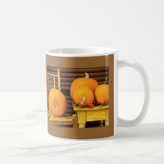 Autumn Pumpkins Coffee Mugs
