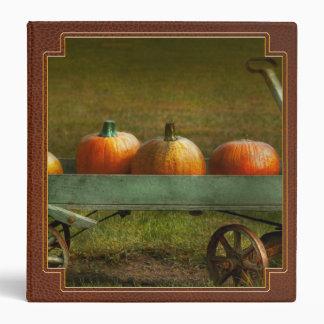 Autumn - Pumpkins - Free ride Binders