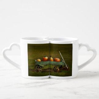 Autumn - Pumpkins - Free ride Coffee Mug Set