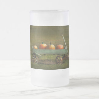 Autumn - Pumpkins - Free ride Frosted Glass Beer Mug