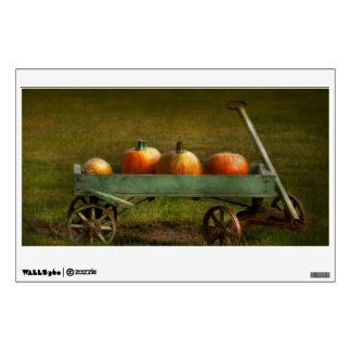Autumn - Pumpkins - Free ride Wall Stickers