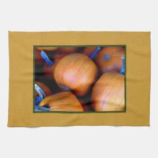 'Autumn Pumpkins' Kitchen Towel