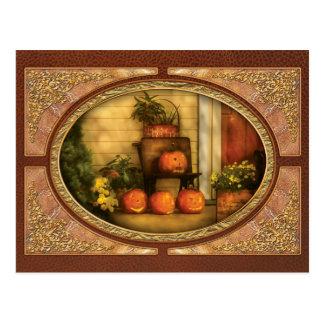 Autumn - Pumpkins - The Jolly Bunch Post Card