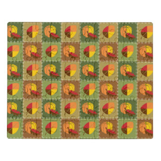 Autumn Quilt Acrylic Puzzle
