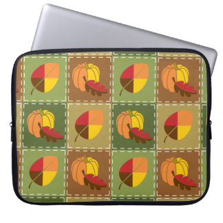 Autumn Quilt Laptop Sleeve