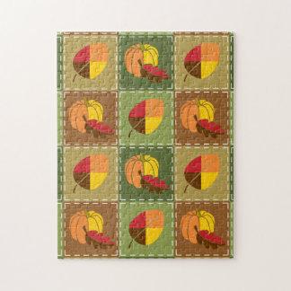 Autumn Quilt Puzzle