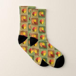 Autumn Quilt Socks