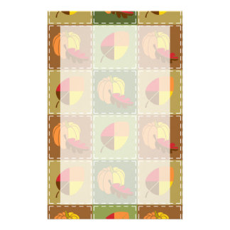 Autumn Quilt Stationery
