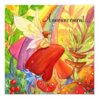 Autumn Rainbow , Card