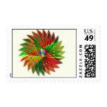 Autumn Rainbow Postage Stamp