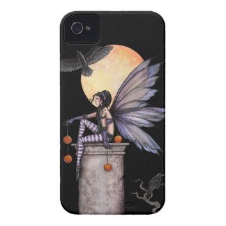 Autumn Raven Gothic Fairy Fantasy Art iPhone 4 Case-Mate Cases