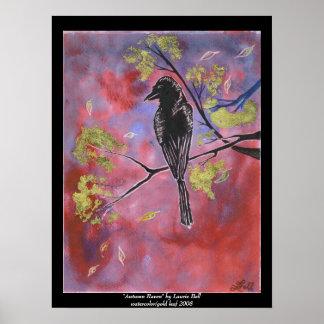 """Autumn Raven"" Print"