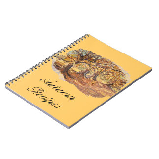 Autumn recipes note book
