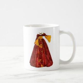 Autumn Red Gown Coffee Mug