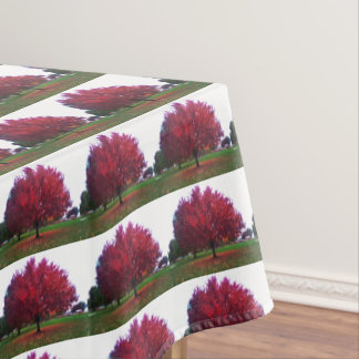AUTUMN REDS tablecloth