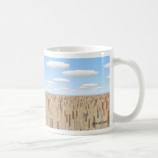 autumn reeds coffee mug
