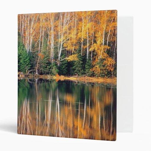 Autumn Reflections Binders