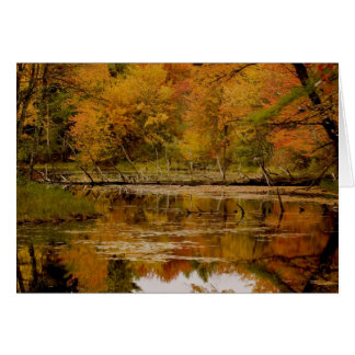 Autumn Reflections Card