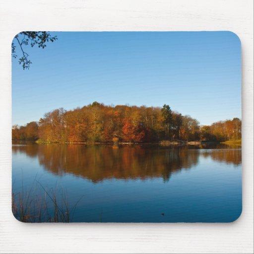 Autumn reflections mousepad