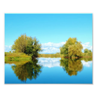 Autumn Reflexions - Photo Print