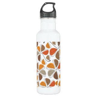 Autumn Retro Pattern 2B 24oz Water Bottle