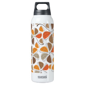 Autumn Retro Pattern 2B 16 Oz Insulated SIGG Thermos Water Bottle