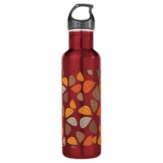 Autumn Retro Pattern 2E 24oz Water Bottle