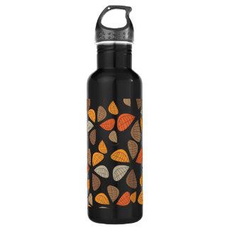 Autumn Retro Pattern 2F 24oz Water Bottle