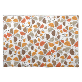 Autumn Retro Pattern 4 Cloth Placemat