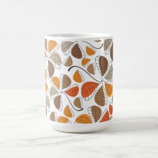 Autumn Retro Pattern 7 Classic White Coffee Mug