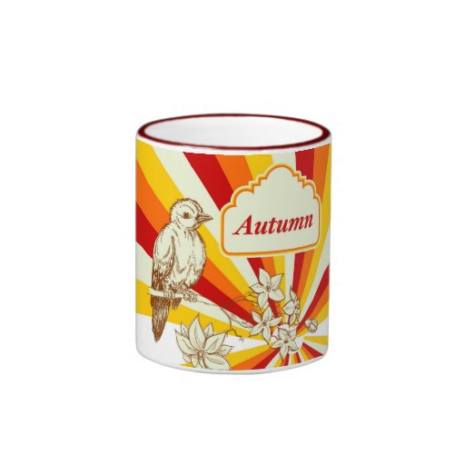 Autumn Ringer Coffee Mug