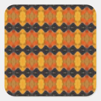 Autumn Ripple Square Sticker