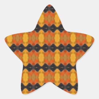 Autumn Ripple Star Stickers