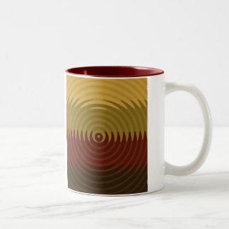 Autumn Ripple Two-Tone Coffee Mug