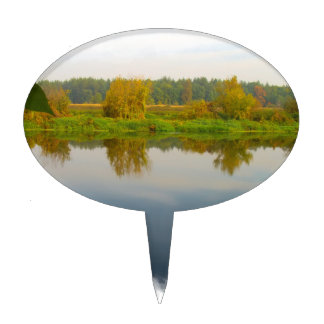 Autumn River4 Cake Toppers