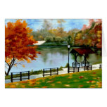 Autumn River Cards