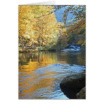Autumn River Greeting Cards