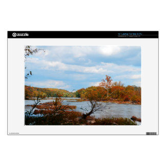 Autumn River Laptop Skin For Mac & PC