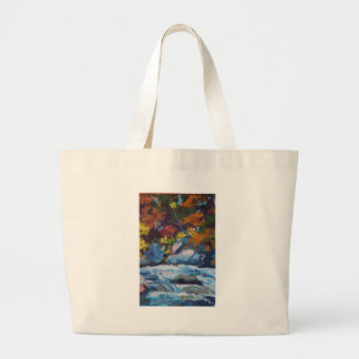 Autumn River Painting Bags