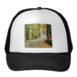 Autumn Road Percy Warner Park Trucker Hat