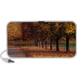 Autumn Roadway Travelling Speaker