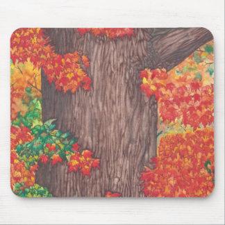 Autumn Robe Mousepad