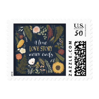 Autumn Romance V | A True Love Story Never Ends Postage