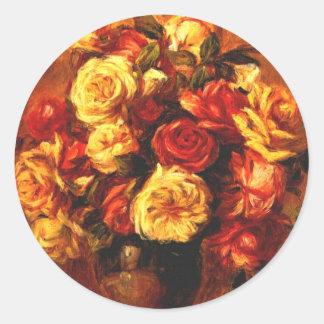 Autumn Roses Stickers