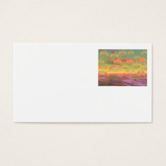 Autumn Ruminations – Gold & Rose Glory Business Card