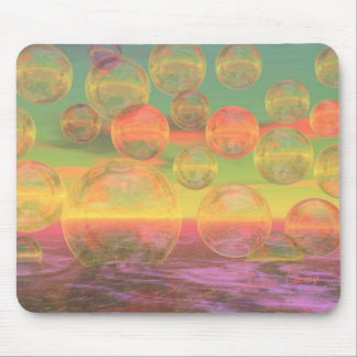 Autumn Ruminations – Gold & Rose Glory Mouse Pad