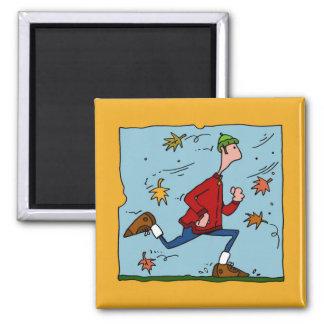 autumn runner (guy) magnet