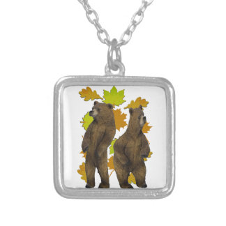 Autumn Rush Silver Plated Necklace