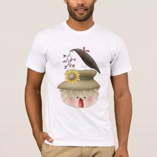 Autumn Scarecrow T-Shirt by Trina Clark